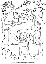 Awesome God Coloring Page