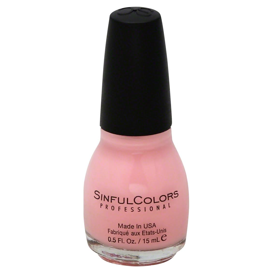 Sinful Colors Professional Nail Polish - #1506 Pink Smart, 0.5oz