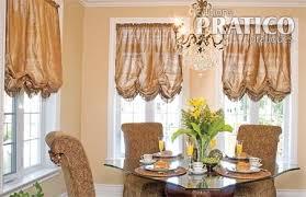 rideaux salle a manger rideaux de style dans une salle à manger luxueuse salle à manger