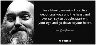 Im A Bhakti Meaning I Practice Devotional Yoga And The Heart Love