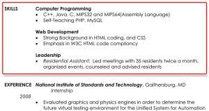 Examples Of Skills Resume Example