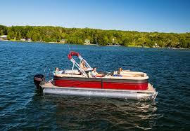 Crest Pontoon Captains Chair by Rental Boats Stillwater Boat Rentals