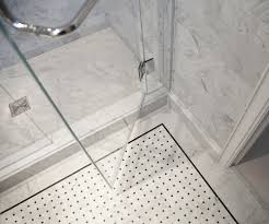 shower floor tile wrapping bathroom interior in chic layouts
