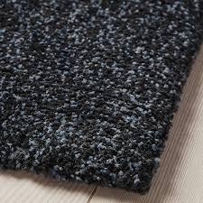 tyvelse teppich kurzflor dunkelgrau 133x195 cm ikea