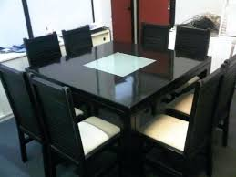 Dining Table With 8 Chair Top Seats Chairs Room Amazing Dark Oak And