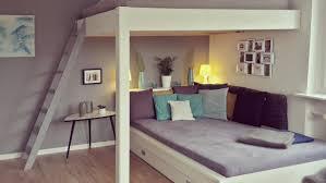 wohnzimmer schlafzimmer hochbett