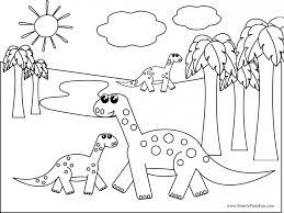 Coloring Pictures Of Dinosaurs Mastodon Dinosaur Page Pinterest