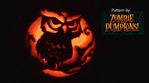 Totoro Pumpkin Carving Patterns by Owl Pumpkin Carving Youtube