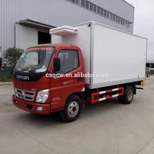 100 Freezer Truck Foton Refrigerated Small 2tons 3tons 5mt Refrigerated