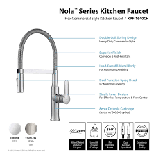 Ridgid Faucet And Sink Installer Tool Instructions by Kraus Kpf 1640ch Modern Nola Single Lever Flex Commercial Style