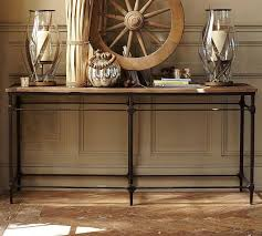 Console Tables : Amazing Simple White Distressed Console Table In ... Long Media Console Car Desk Organizer Coffee Table Foyer Tables Pottery Barn Settee About Fancy Apothecary For Fresh 12 Chloe Ideas 2017 Armoire Ebay Griffin Reclaimed Wood Decor Look Pottery Barn Console Table Roselawnlutheran 15 Best Of Rhys From Do Want