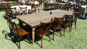Farm Tables - Rustic - DPC Event Services Timelessly Charming Farmhouse Style Fniture For Your Home Interior Rustic Round Ding Table 6 Ideas 30 House X30 Inch Modern Farm Wood You Kitchen Extraordinary Narrow Room Black Chairs Photos And Pillow Weirdmongercom Hercules Series 8 X 40 Antique Folding Four Bench Set Luxury Affordable Grosvenor Wooden With Gray White Wash Top Classic Base Criss Cross Includes Two Benches E Braun Tables Inc Back Burlap Cushions Amish Sets Etc