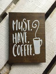 Coffee Signs Kitchen Decor Themed Wall Art
