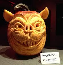 Joker Pumpkin Pattern by R Horror U0027s First Annual Halloween Carving Contest Horror