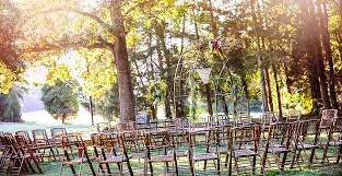 Rustic Event Rentals In North Carolina Farm Tables Bamboo Chairs Decor