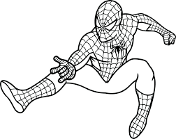 Glamorous Spiderman Venom Coloring Pages Print Printable Spider Man Kids