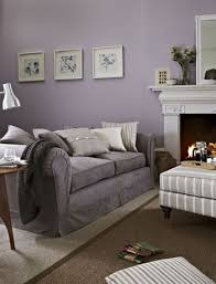 image result for lavender and grey living room shabby and