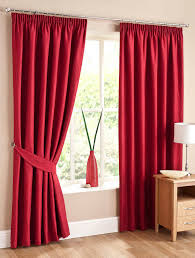 Burgundy Blackout Curtains Uk by Red Swirl Lined Ready Made Curtains Free Uk Delivery Terrys