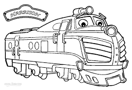 Printable Chuggington Coloring Pages For Kids