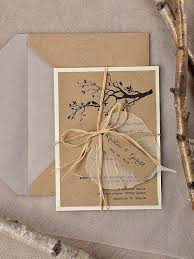 Rustic Wedding Invitations20Wedding Invitation SuiteTree InvitationGarden InvitationBirds LovebirdsModel No 03 Rus Z Invites