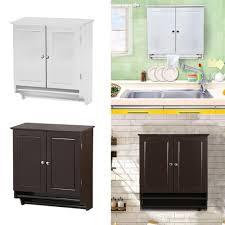 großhandel badezimmer schrank speicher wandmontage küchenschrank regale mit handtuchhalter weiß espresso dhmakepossible 34 38 auf
