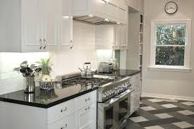 White Kitchen Cabinets With Stainless Steel Appliances Antique Design