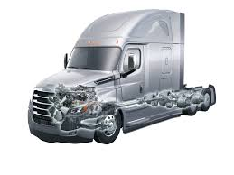100 White Freightliner Trucks Pushes Innovation With New Cascadia Power