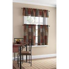 Heritage Blue Curtains Walmart by Mainstays Curtains Ebay