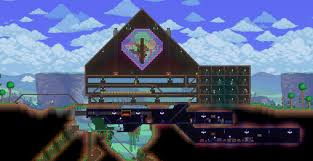 Terraria Halloween Event by Today I Decided To Experiment With Stained Glass Wall I U0027m Also