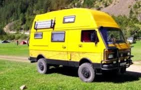 Volkswagen LT 4X4 Camper Van Conversion From The 1980s