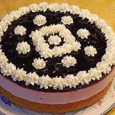 käse sahne torte mit blaubeeren omaemma chefkoch