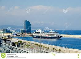 100 Barcelona W Hotel Port Vell Of Ith Vela And Cruise Azamara Editorial