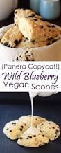 Panera Pumpkin Muffin Recipe by Vegan Wild Blueberry Scones Panera Copycat Recipe Scone