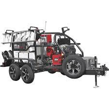 100 North Star Trucking ProShot Hot Water Commercial Pressure Washer Trailer