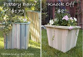 Pottery Barn Reclaimed Wood Planter Tutorial The Kim Six Fix
