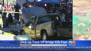 Truck Plunges Off California Bridge, Killing 4 At Festival Below ...