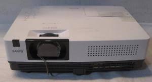 sanyo xga projector model plc xk2200 5 658 l hours