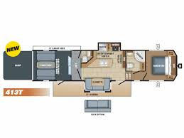 Jayco Fifth Wheel Floor Plans 2018 by 2018 Jayco Talon 413th For 49 999