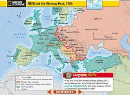 Iron Curtain Warsaw Pact Apush by Cold War