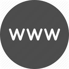 Browser internet site url web website icon
