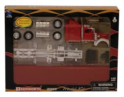 Other Action Figures - New Ray Toys 1:43 Kenworth Truck Model Kit ... New Ray 132 Tow Truck With Custom Strobe Lights Youtube Kenworth W900 143 Monster Energy Jonny Greaves 124 Diecast Offroad Toy Newray Iveco Stralis 40 Contai End 21120 940 Am New Ray Trucks Scania R 124400 11743 Car Holder Scale 1 Newray 14263 Volvo Vn780geico Honda Racing Model Ebay Toys Scale Chevrolet Stepside Pickup Lvo Vn780 Semi Trailer Long Hauler Newray 14213 R124 Plastic Lorry 10523e Bevro Intertional Webshop Tractor Log Loader Diecast Amazoncom Peterbilt Flatbed And 2 Farm