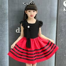 2018 2017 Children Dresses Summer New Girls Dress Cute Princess Skirt Clothing Chiffon Sleeveless Casual Kids Fashion Clothes From