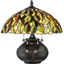 Quoizel Tiffany Style Floor Lamps by Quoizel Tf3181t Table Lamp Tiffany