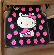Cute Car Floor Mats by Buy Wholesale Cute Hello Kitty Cartoon Strawberry Universal
