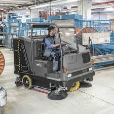 Riding Floor Scrubber Training by Kärcher B 300 Ri Combination Ride On Sweeper U0026 Scrubber Dryer
