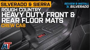 100 Heavy Duty Truck Floor Mats 20142018 Silverado Sierra Crew Cab Rough Country Review Install