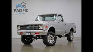 1972 Chevrolet C10 4x4 New Wheels - YouTube