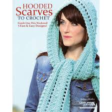 Leisure ArtsHooded Scarves To Crochet JOANN