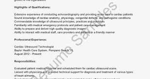 Ultrasound Resume Exles by Radiologist Physician Sle Resume Radiologist Resume Sles