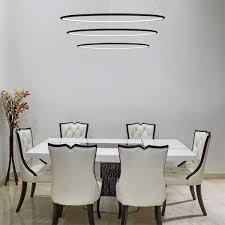 altavola design pendelleuchte led ring no 3 schwarz in 4k